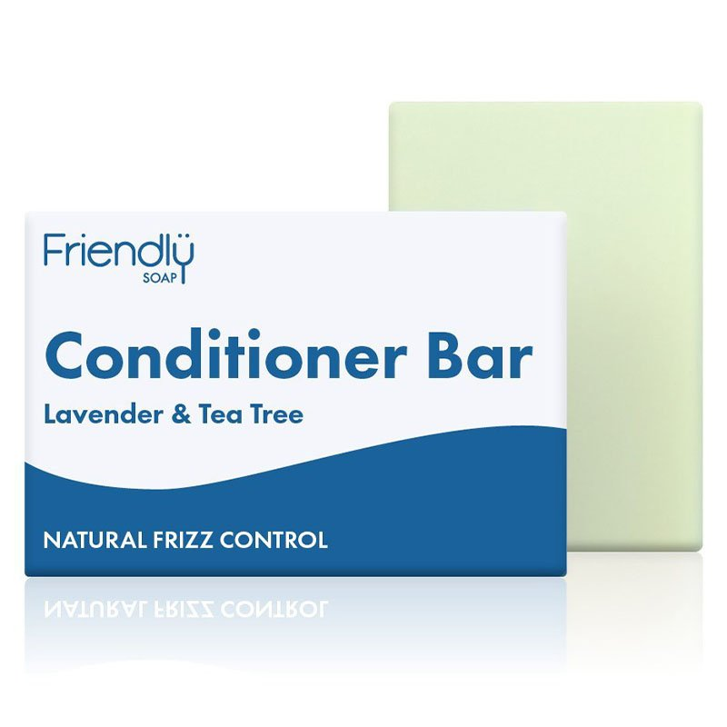 Friendly Soap Lavender & Tea Tree Conditioner Bar (90g)