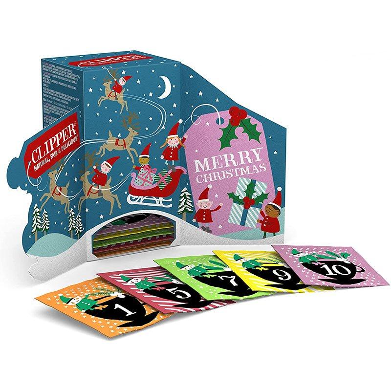 Clipper Organic Tea Christmas Advent Calendar - 24 Bags (48g) 2