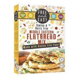 Free & Easy Flatbread Mix - Vegan & Gluten Free (250g)