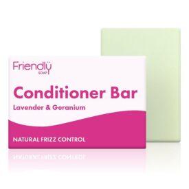 Friendly Soap Lavender & Geranium Conditioner Bar (90g)