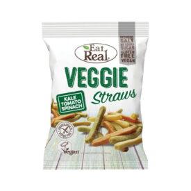 Eat Real Veggie Straws - Kale, Tomato & Spinach (45g)