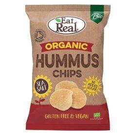 Eat Real Organic Hummus Chips with Sea Salt (100g)