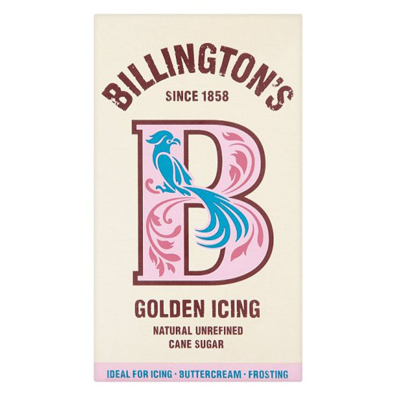Billington's Natural Golden Icing Sugar (500g)