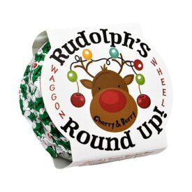 Ananda Foods Rudolph's Round Up (Vegan Waggon Wheel) - Cherry & Berry (75g)