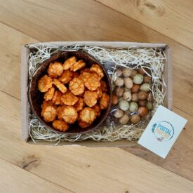 Coconut Bowl & Savoury Snacks Gift Box Hamper