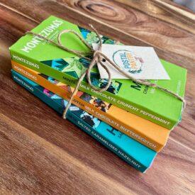 Montezuma's Milk Chocolate Bar Hand-Tied Gift Set