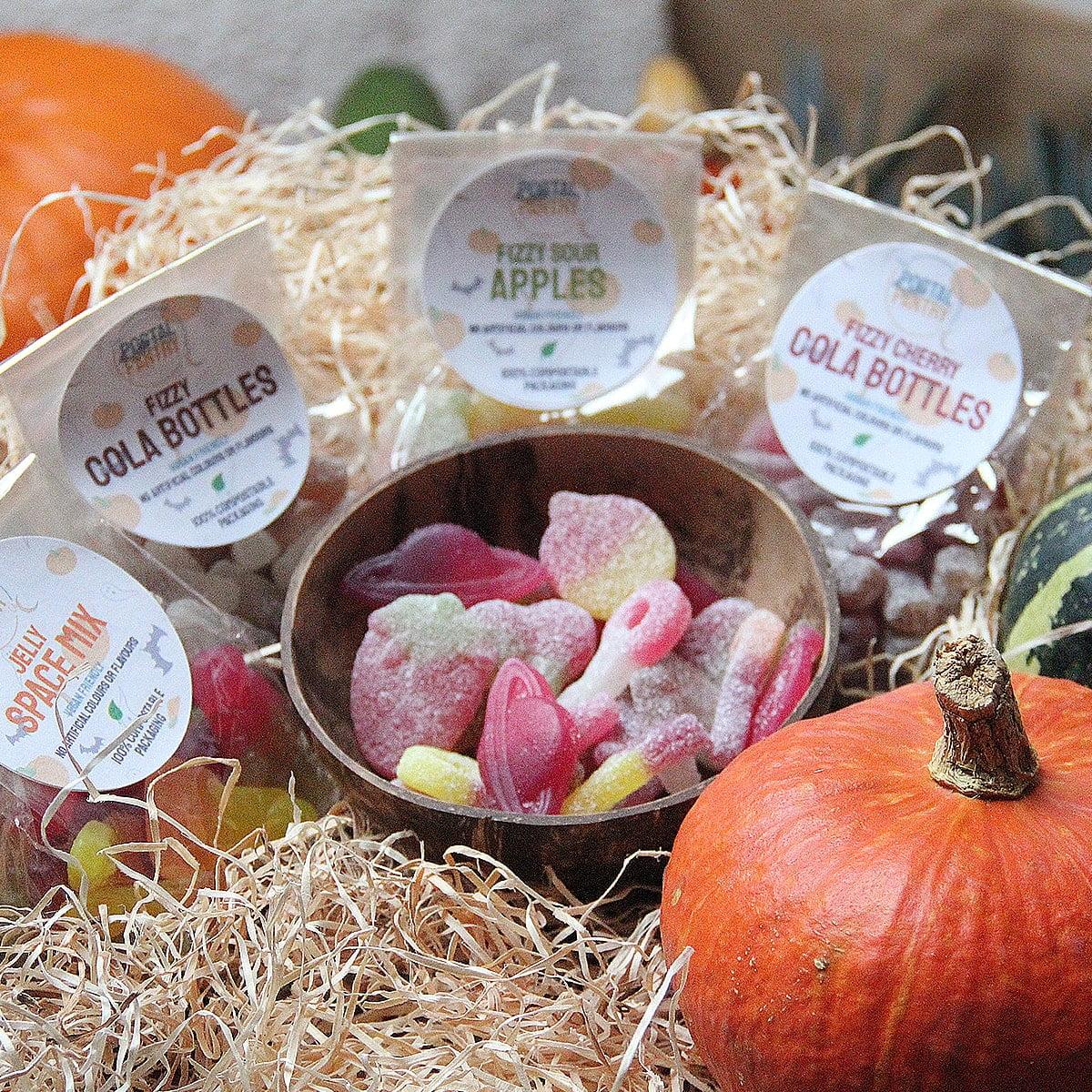 Vegan, Natural, Plastic Free Sweets